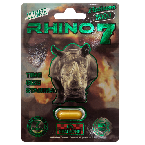 Rhino 7 Platinum 3000 Front