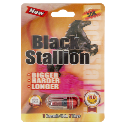 Black Stallion Gold 30k Front