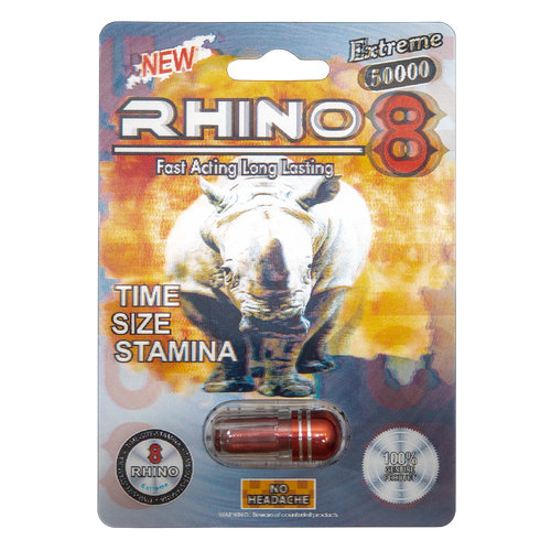 Rhino 8 Extreme 50000 Front