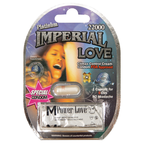 Imperial Love Platinum with Condom 22000 Front