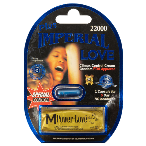 Imperial Love Plus with Condom 22000 Front
