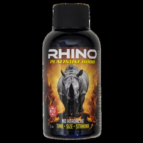 Rhino Platinum 8000 Liquid Front