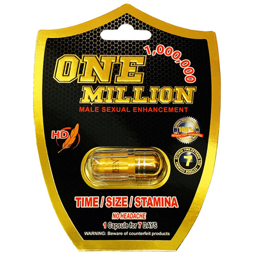 One Million Sex Pill Front Image