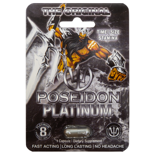 Poseidon Platinum Black