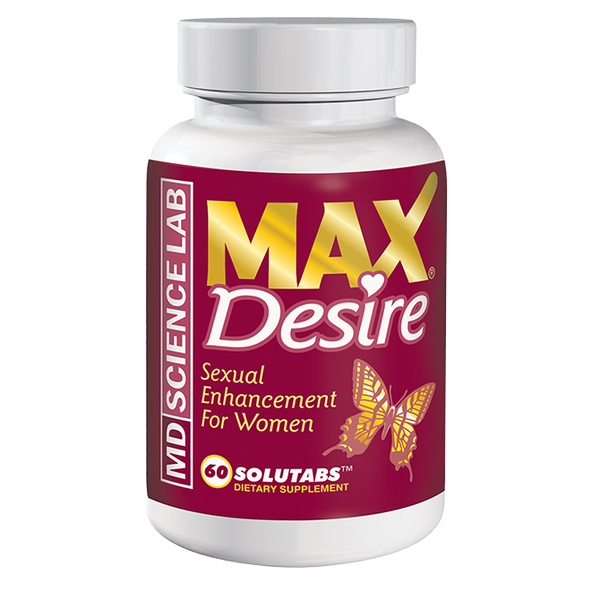Max Desire Sexual Enhancement for Women 60ct by MD Science Lab