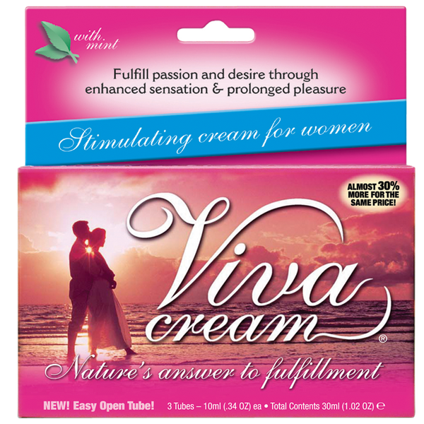 Viva Cream For Orgasm Intensity 3tubes by MD Science Lab