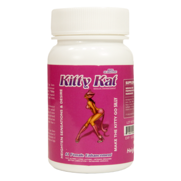 Kitty Kat Sensual Enhancement  Make The Kitty Go Silly BOTTLE 6CT