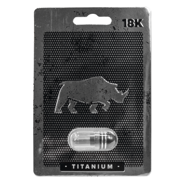 Rhino Titanium 18K Sex Enhancer