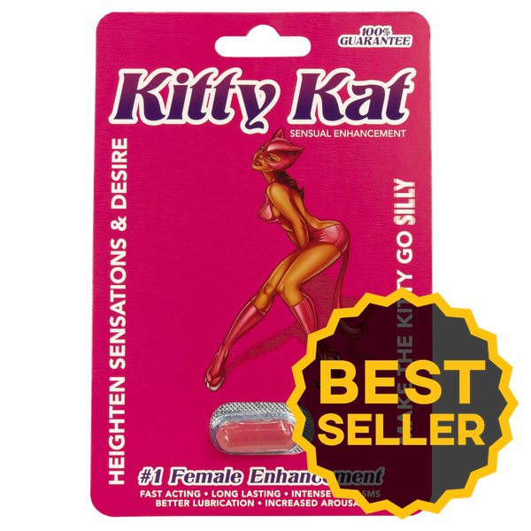 The Kitty Kat Sensual Enhancement Pill