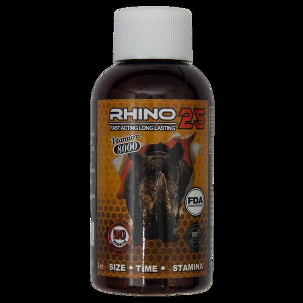 Rhino 25 Titanium 8000 Liquid Front