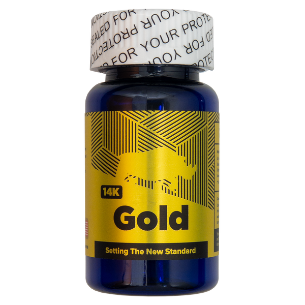 Rhino 14k Gold Front