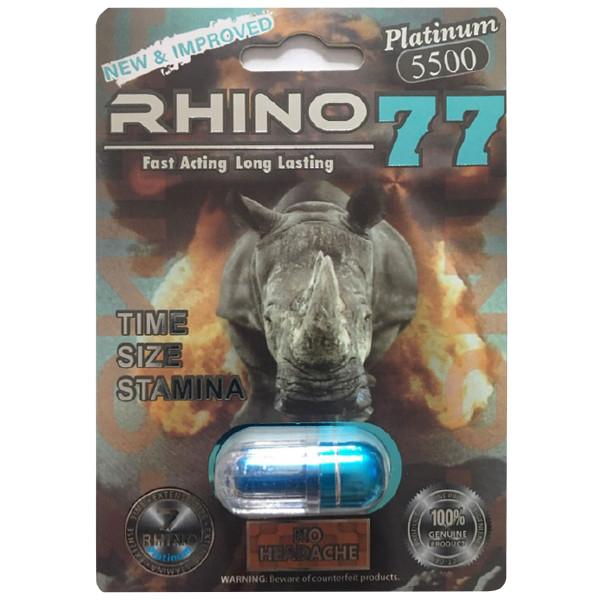 Rhino 77 Platinum front image
