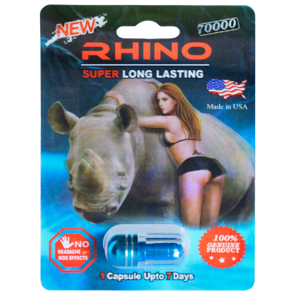 Rhino 70000 1 count front image