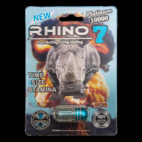Rhino 7 Platinum 10000 front