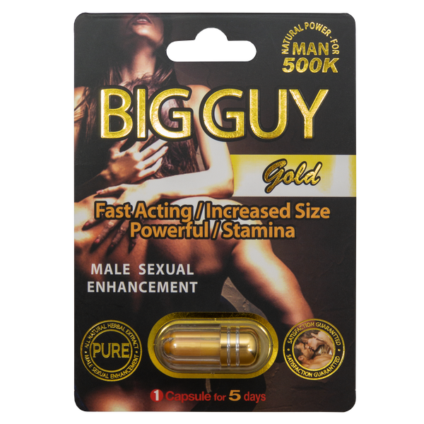 Big Guy Gold 500k Front