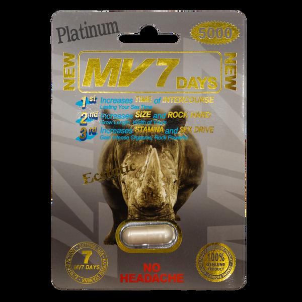 MV7 Days Platinum 5000 Front