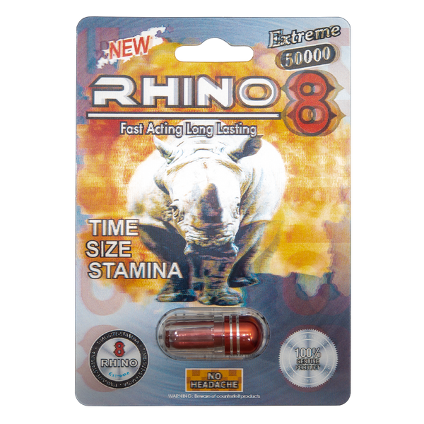 Rhino 8 Extreme 50000 Front