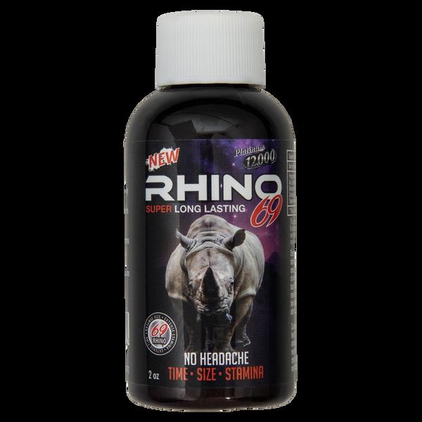 Rhino 69 Platinum 12000 Liquid Front