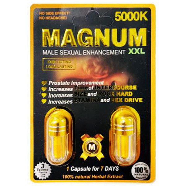 Magnum 5000k 2 count double pack front image