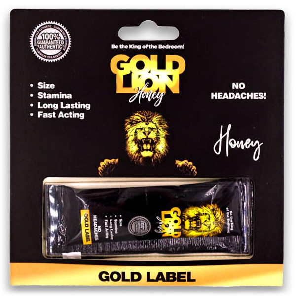 Gold Lion Honey Front Image