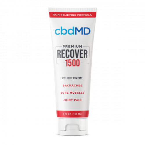 CBDMD Recover Squeeze 4oz 1500mg