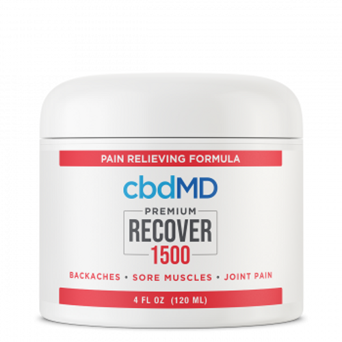 Recover CBD pain cream from cbdMD features the benefits of premium CBD and the pain relieving power of histamine dihydrochloride to ease discomfort. PRCBD