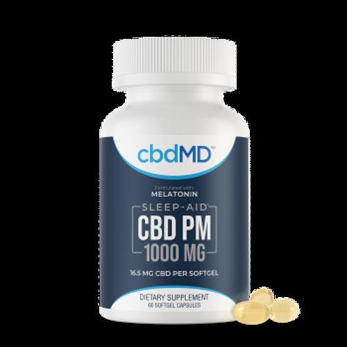 CBDMD PM Softgel Capsules 60 Count 1000mg