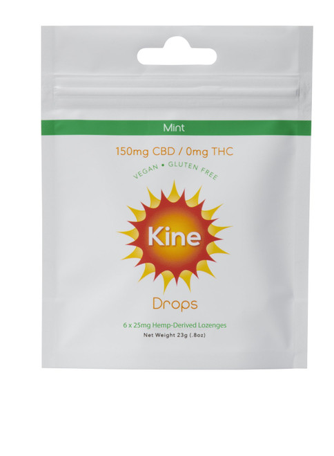 Kine Mint Drops 150mg