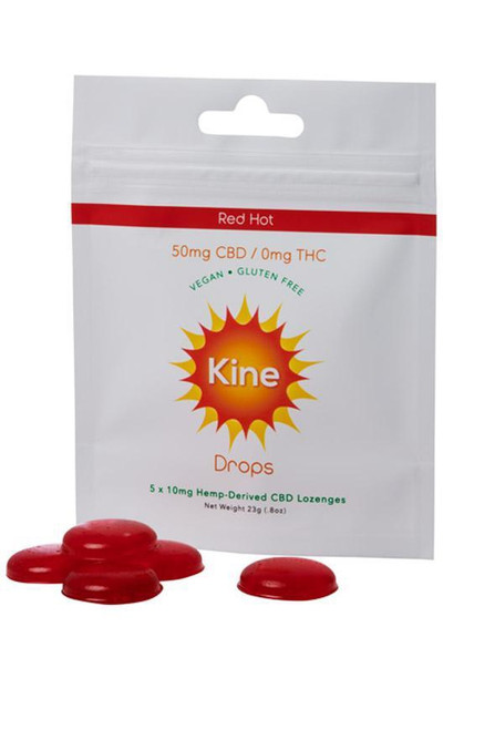 Kine Red Hot Drops 50mg