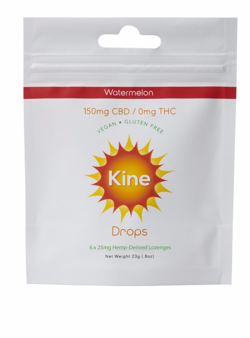 Kine Watermelon Drops 150mg