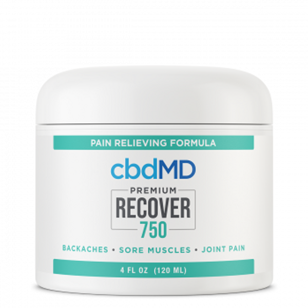 CBDMD Recover Tub 4 oz 750mg