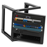 NavePoint Introduces a Full Line of Swing Gate Wall-Mount Network Racks for Easy Access to Rack-Mounted Equipment, from All Sides
