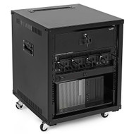 NavePoint Introduces 9U, 12U and 15U Portable Rolling Network Racks for Maximum Portability of Servers, Network, Telecom and A/V Equipment