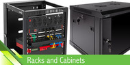 Types of Racks, Fixtures, and Cable Access Designs