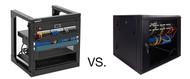 Equipment Racks VS. Equipment Cabinets