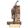 Billboard Series Male Bowling Resin Trophy
