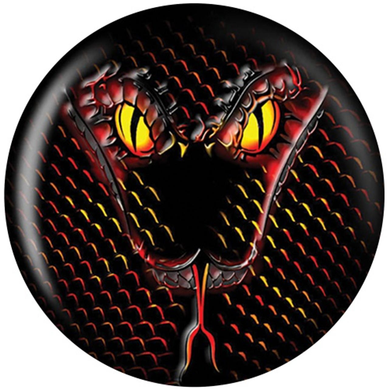 Brunswick Snake Viz-A-Ball Bowling Ball