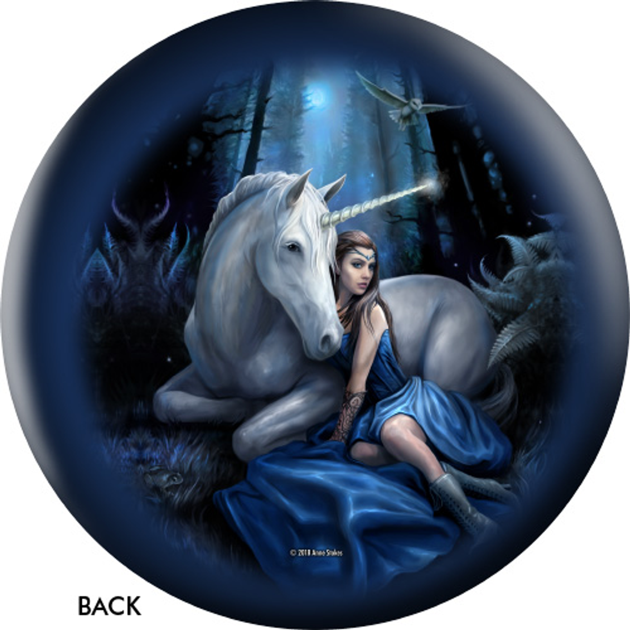 OTBB Celtic Unicorn/Blue Moon Bowling Ball