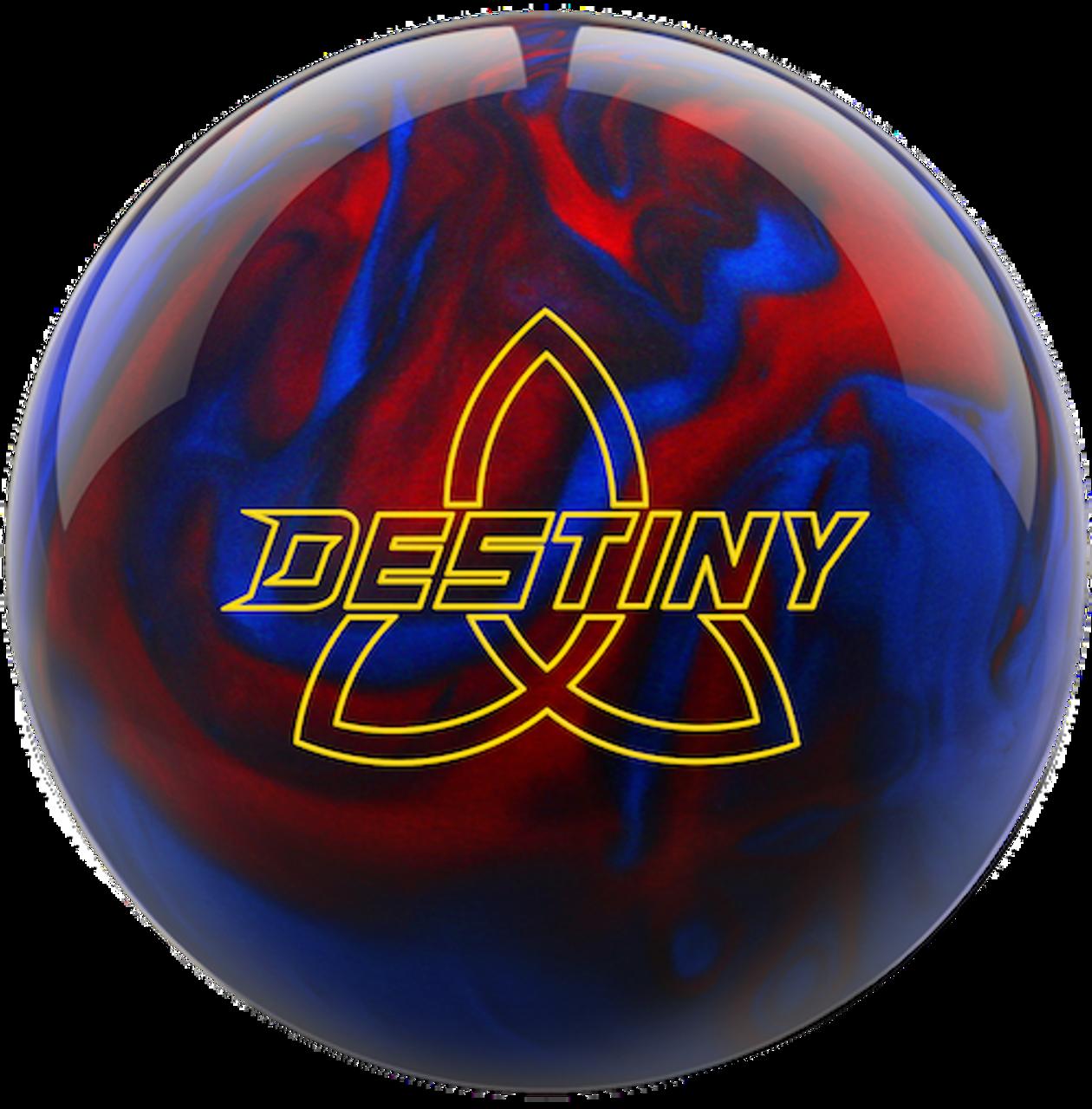 Ebonite Destiny Pearl Black/Red/Blue Bowling Ball