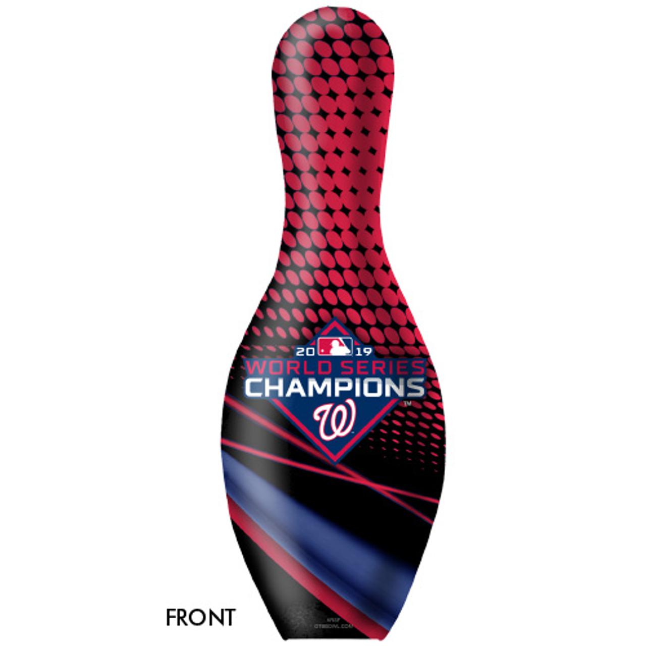 OTBB 2019 World Series Champion Washington Nationals Bowling Pin