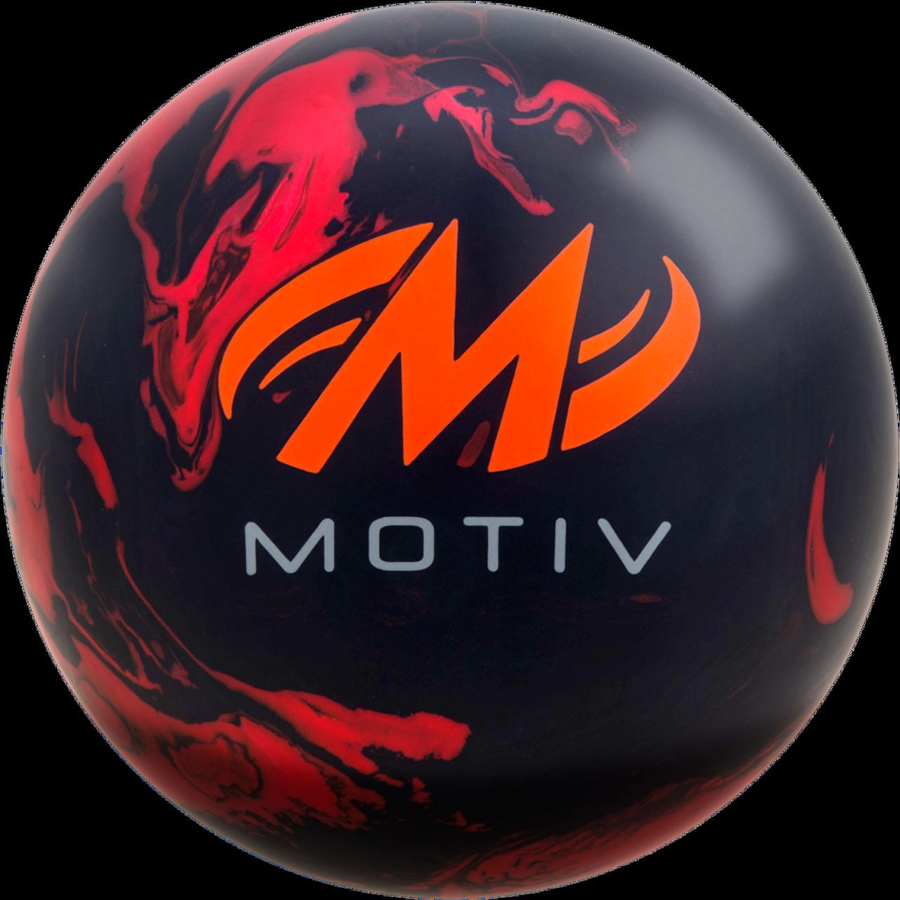 Motiv Forge Bowling Ball Back Side