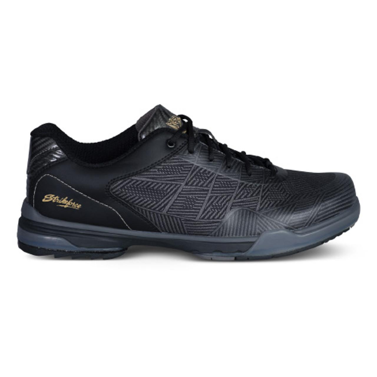KR Strikeforce Mens Rage Bowling Shoes Gunmetal/Black Right Handed