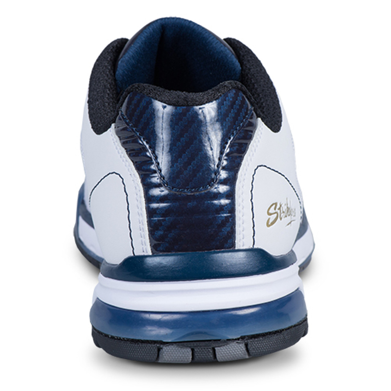 KR Strikeforce Mens Rage Bowling Shoes White/Navy Right Handed