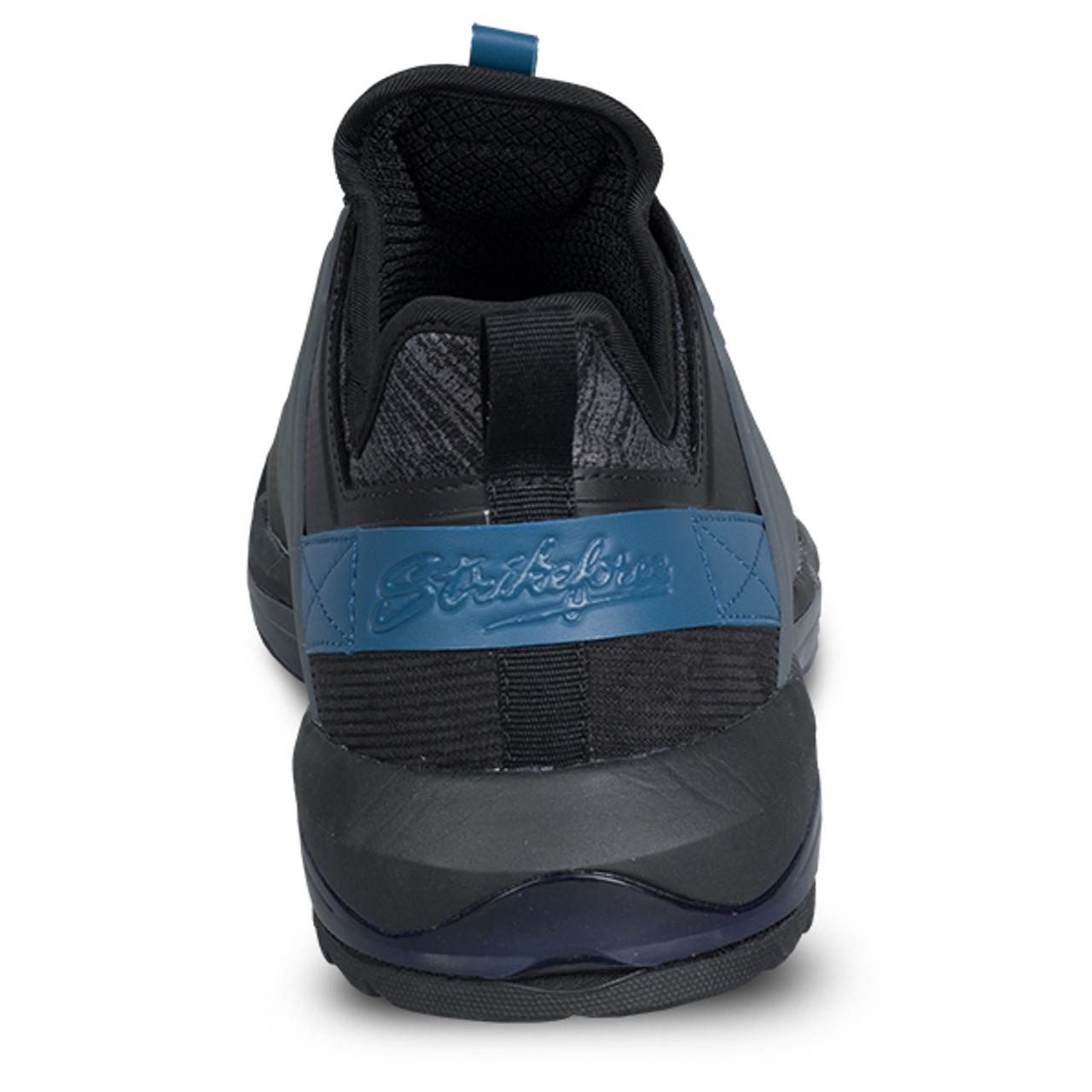 KR Strikeforce Mens Maverick Bowling Shoes Black/Cobalt Right Handed WIDE