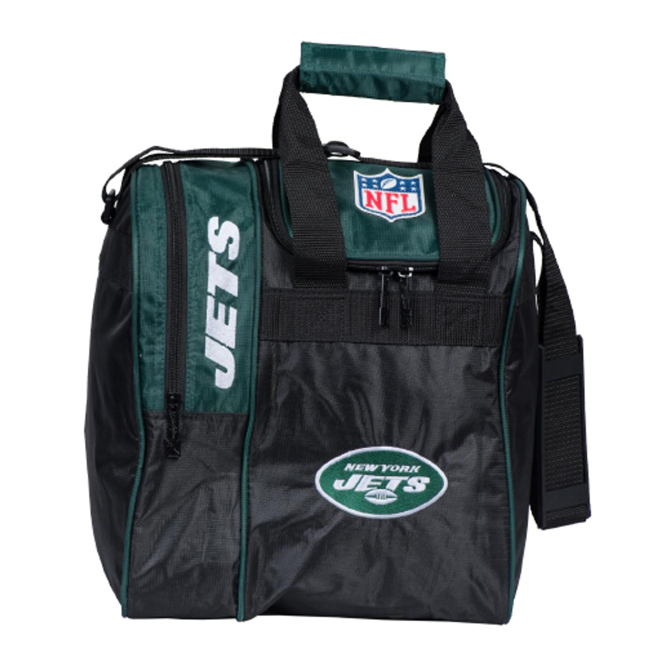KR Strikeforce NFL New York Jets Single Tote Bowling Bag