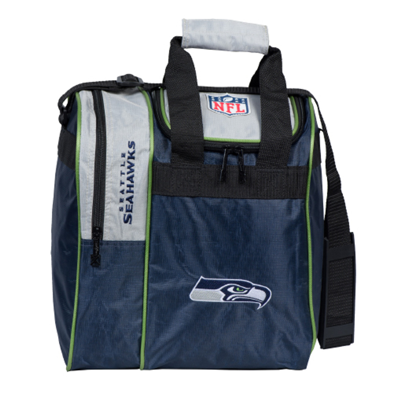 KR Strikeforce NFL Seattle Seahawks Single Tote Bowling Bag
