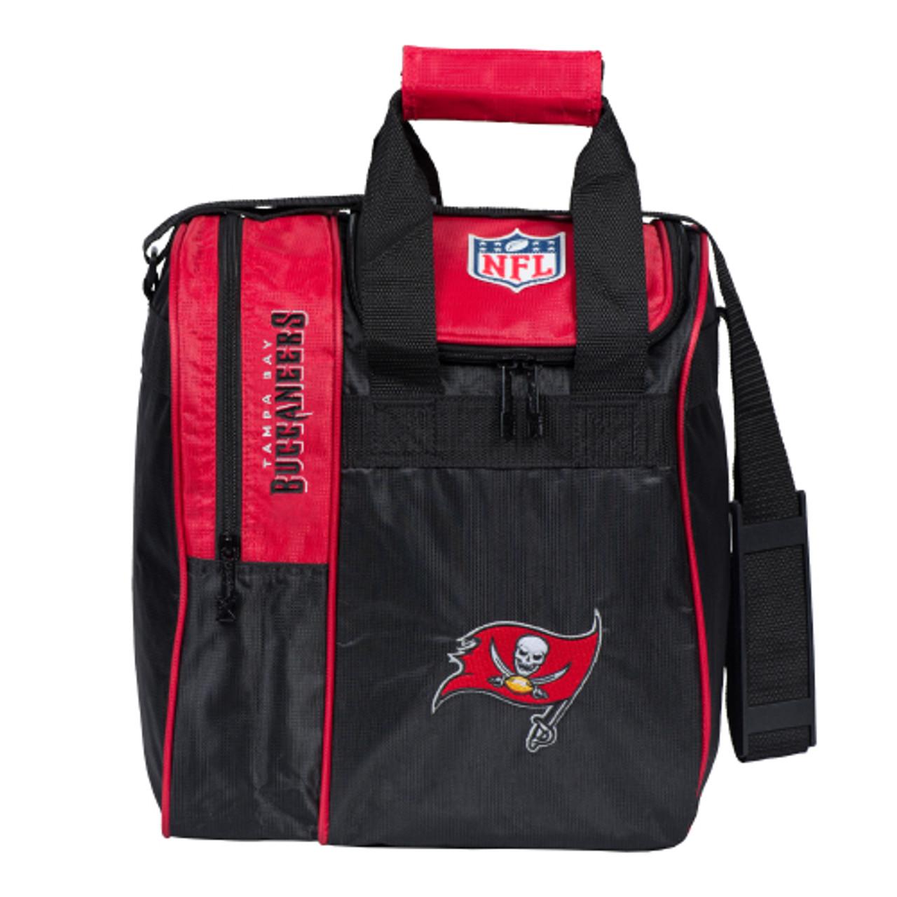 KR Strikeforce NFL Tampa Bay Buccaneers Single Tote Bowling Bag