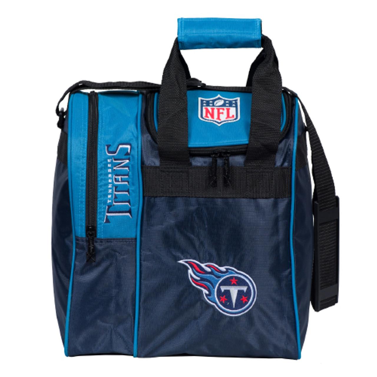 KR Strikeforce NFL Tennessee Titans Single Tote Bowling Bag