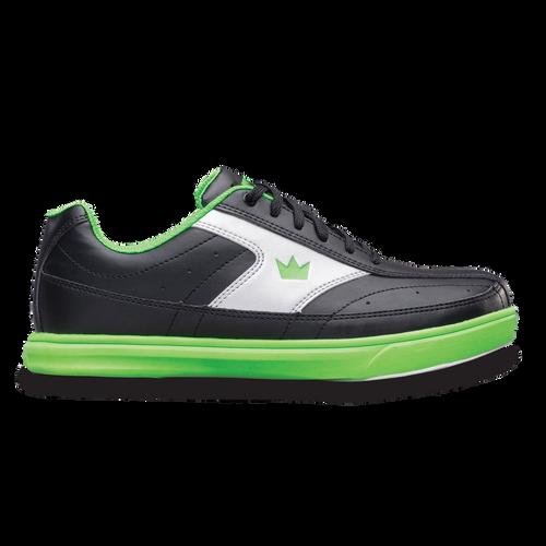 Brunswick Renegade Boys Bowling Shoes Black/Neon