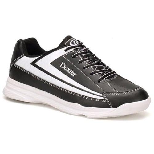 Dexter Jack II Mens Bowling Shoes Black/White WIDE
